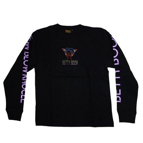 ロンTee (DJ BOOP)  ブラック  L 530869 BB