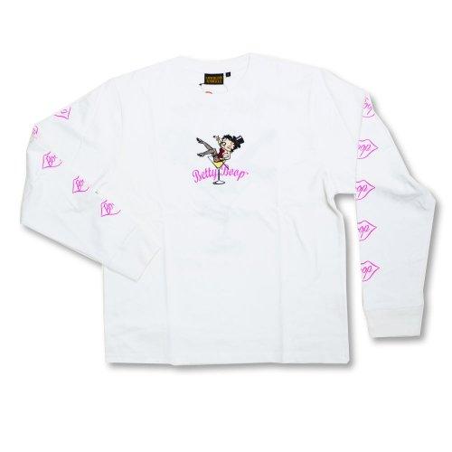 【生産終了品】ロンTee (Show Girl BETTY) ホワイト L 530868 BB