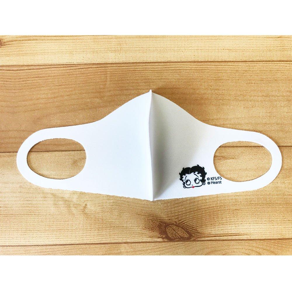マスク(ワンポイント) ホワイト BB
