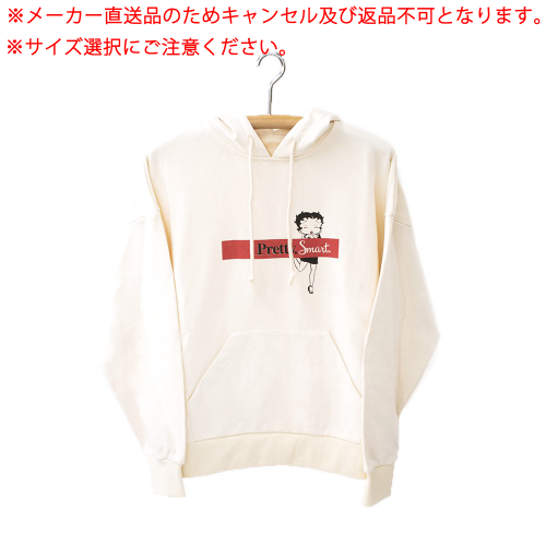 【メーカー直送品】パーカー(※サイズを選択してください。)(Betty Boop pair hoodie Owner's A BTH_AO