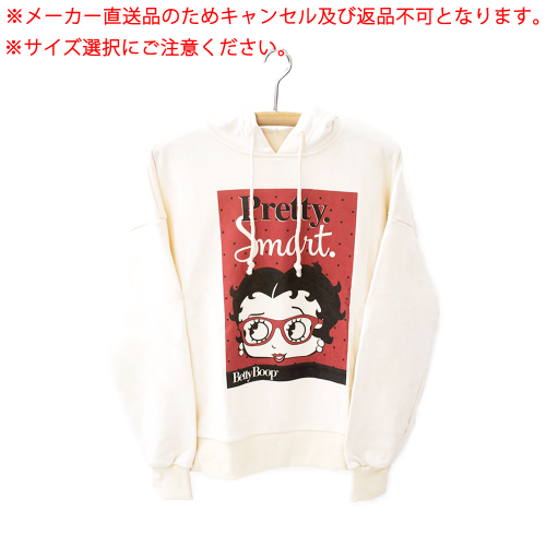 <img class='new_mark_img1' src='https://img.shop-pro.jp/img/new/icons11.gif' style='border:none;display:inline;margin:0px;padding:0px;width:auto;' />【メーカー直送品】パーカー(※サイズを選択してください。)(Betty Boop pair hoodie Owner's B BTH_BO