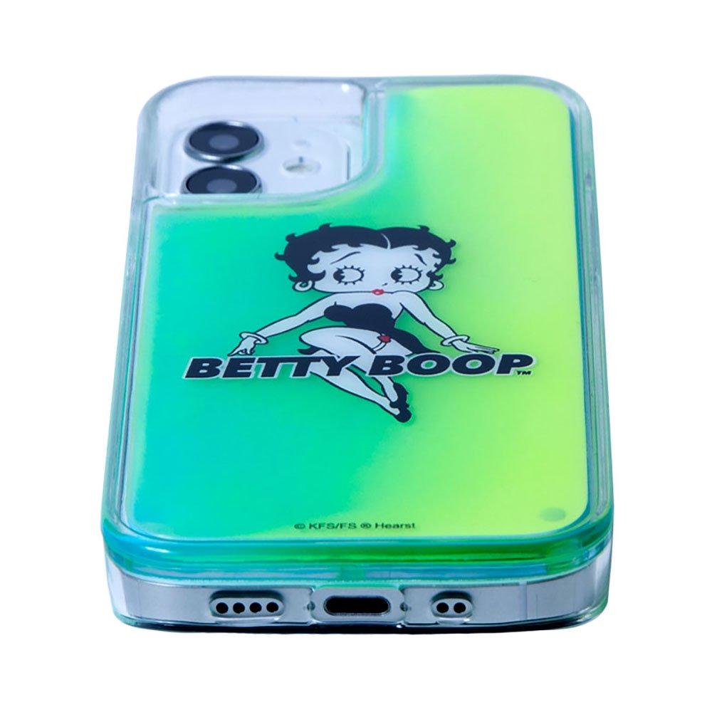 iPhone12/12pro対応ネオンサンドケース (BLACK GREEN)SND-001-12PR-GR BB