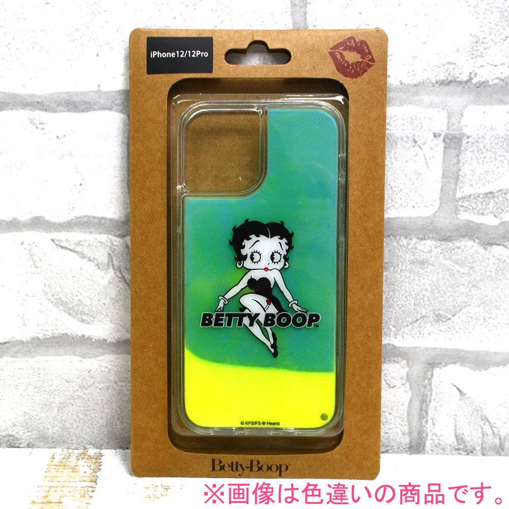 iPhone12/12pro対応ネオンサンドケース( BLACK BLACK)SND-001-12PR-BK BB