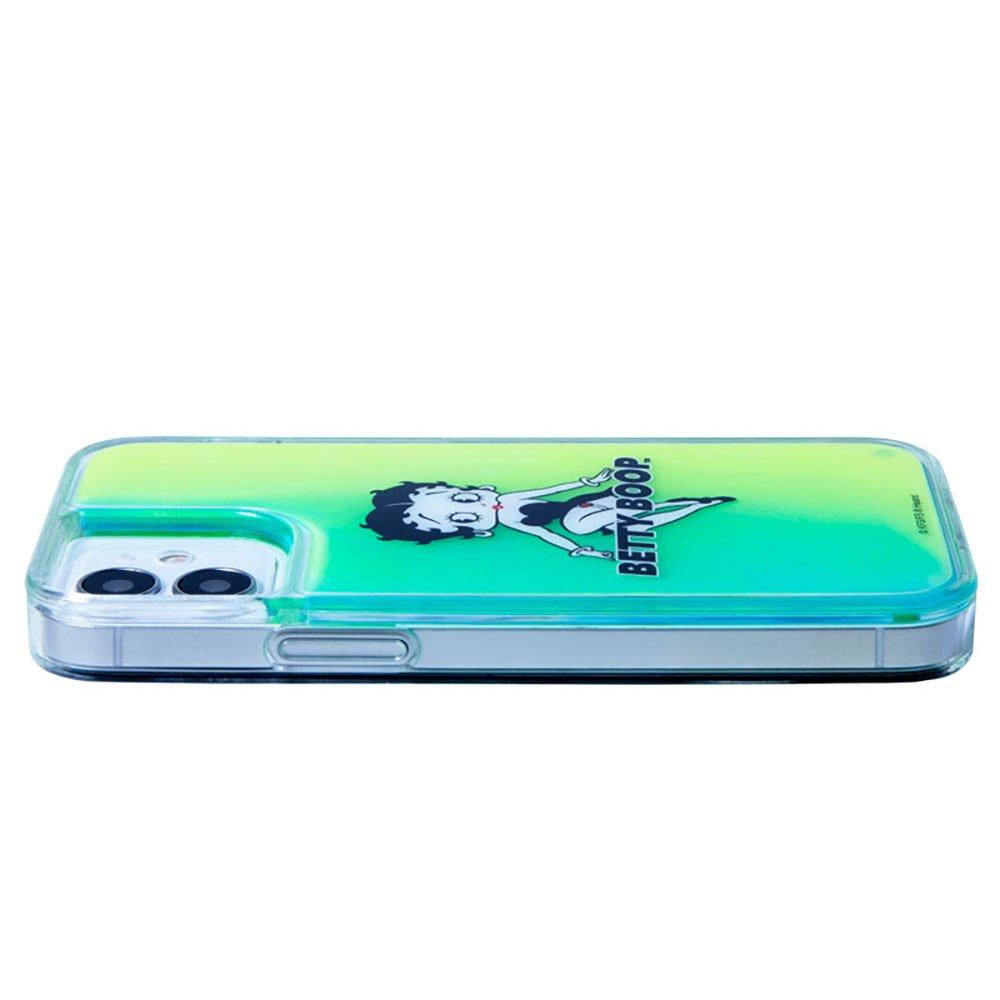 iPhone12mini対応ネオンサンドケース(BLACK GREEN)SND-001-12MN-GR BB
