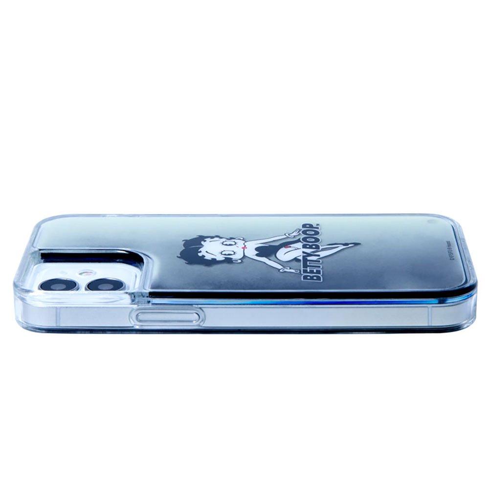 iPhone12mini対応ネオンサンドケース(BLACK BLACK)SND-001-12MN-BK BB