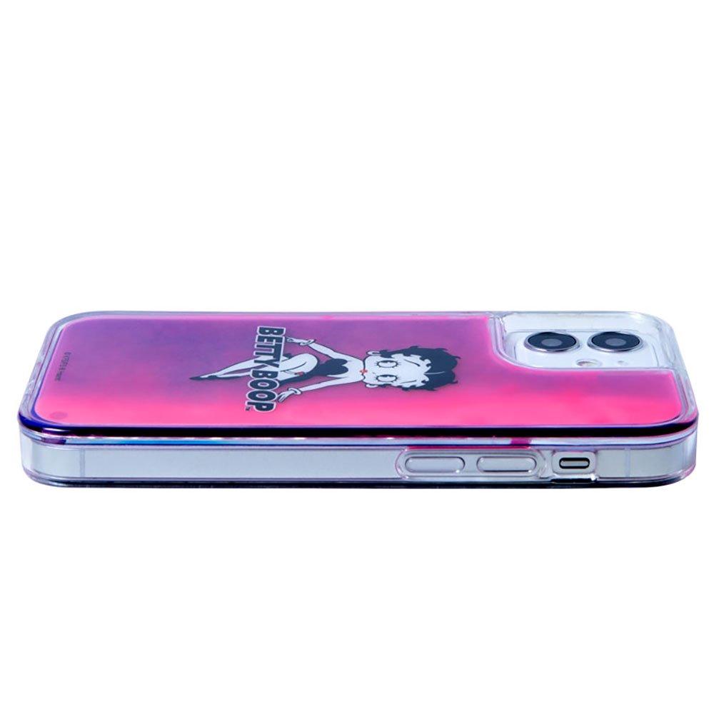 iPhone12mini対応ネオンサンドケース(BLACK PINK)SND-001-12MN-PK BB