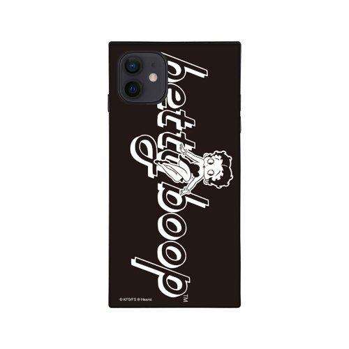 iPhone12mini対応ガラスケース(BLACK GIRL)GLS-002-12MN-BK BB