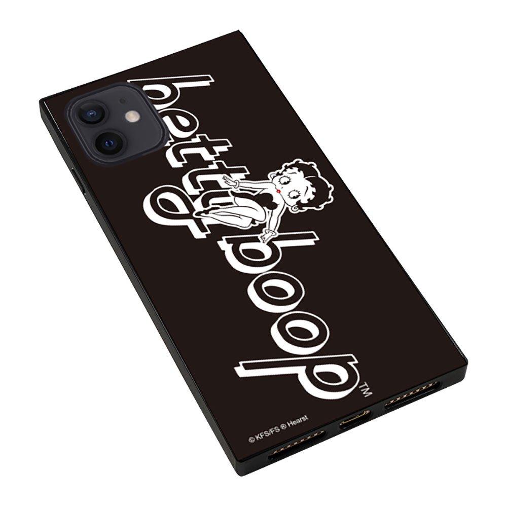 iPhone12/12pro対応ガラスケース(BLACK GIRL)GLS-002-12PR-BK BB
