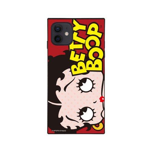 iPhone12mini対応ガラスケース(RED LOGO DOT)GLS-004-12MN-RD BB
