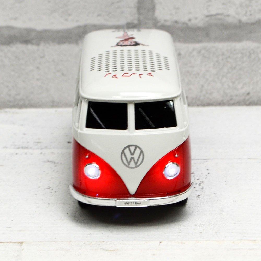 Bluetoothスピーカー (レッド) BT-VW-BTS-003 BB