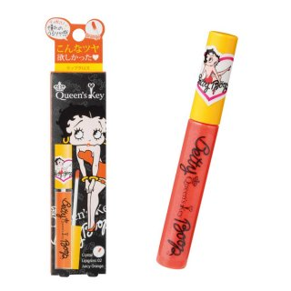【生産終了品】クイーンズ・キー クリスタルリップグロス(02 ジューシーオレンジ)  BB