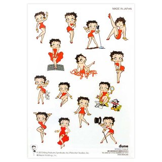 Betty Boop ステッカー【All Betty】  BB