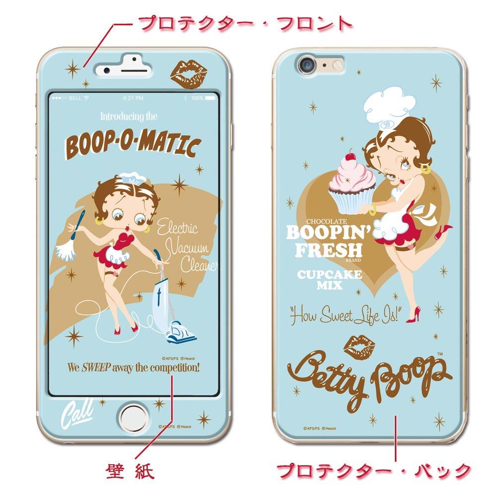 iPhone6/6S用デザインプロテクター (Betty Boop1) BBPC-01_iP6 BB