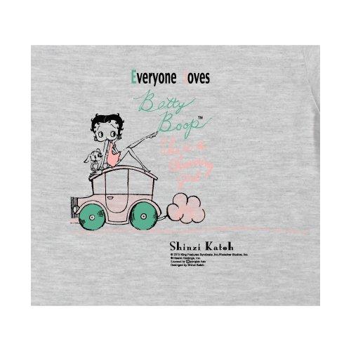 【生産終了品】Tシャツ(BettyBoop1)グレー WM BTT2014 BB