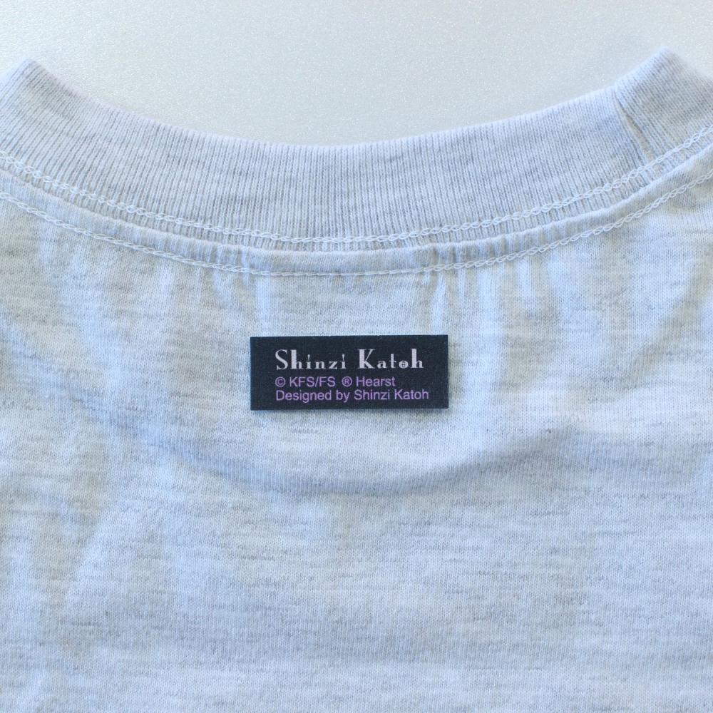 【生産終了品】Tシャツ(BettyBoop1)グレー WL BTT2014 BB