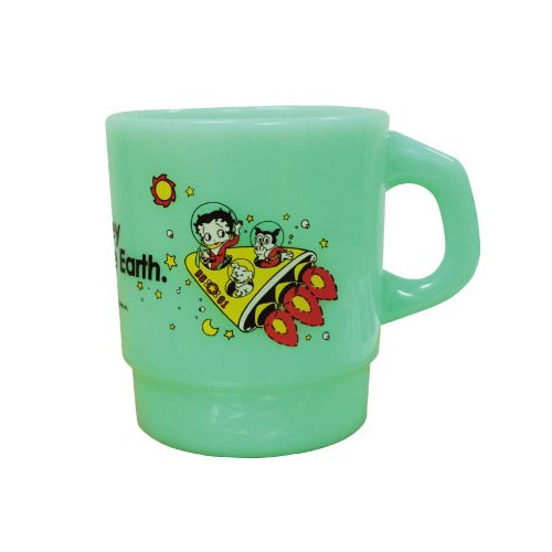 ミルキースタッキングマグカップ(BETTY GREEN)  BB