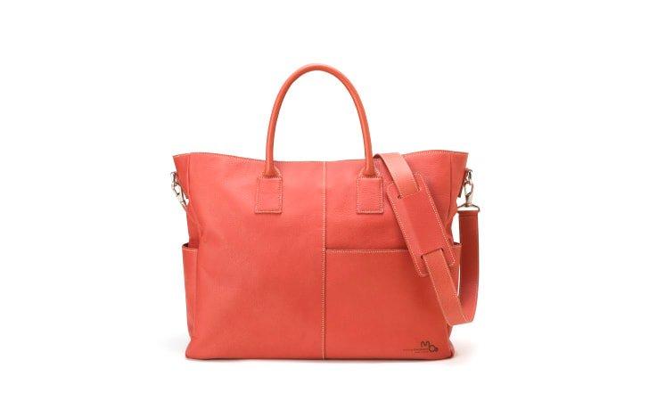 ファッションを楽しむレディースの革のビジネストートバッグ