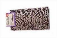 【猫用遊べるマット】よだれだらだらスリスリの「キャットニップマット」レオパード柄 60×40cm 天然キャットニップ10g付
