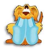 【ポスト投函】 ペット 迷子札 Fastag ファスタグ オーブントースター使用で文字が消えにくい/犬とスリッパ