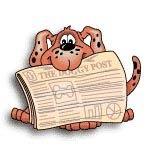 【ペットIDタグ】 オーブントースター使用!専用ペンで文字が消えにくい ファスタグ/犬と新聞