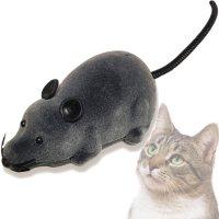 【電動式猫のおもちゃ】リモコン付き 電動猫のおもちゃ モーターマウス