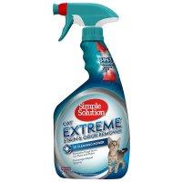 【安全ペット用消臭剤】 シンプルソリューション 猫専用劇的しみ取り消臭スプレー 945ml