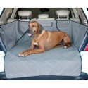 【犬用カー用品】キルトーカーゴカバー 厚手タイプ SUV全車種対応 防水機能 カラー:グレー