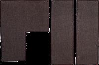 【モダンキャットタワー】ロータスキャットタワー 交換用カーペット ブラウン 3枚セット