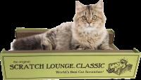 【猫 爪とぎ】 スクラッチラウンジ 大型 リバーシブル 爪とぎ交換可 55×34×12cm