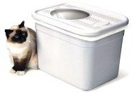 【画期的猫トイレ】最優秀賞受賞 入り口が上についた新発想猫トイレ「クレバーキャット」