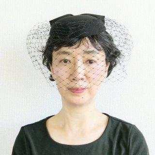 351.慶弔のトーク帽 黒