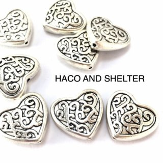 【WEB限定】native heart・8コ☆antique silver