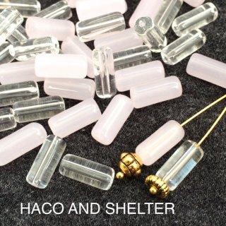 Petit stick☆ Glass beads2Color・28コ