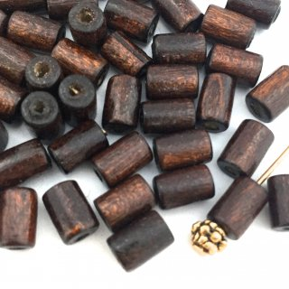 Dark brown Wood☆ Petit spacer・30コ