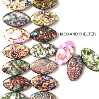 Mysterious fleur☆Acrylic beads・14コ