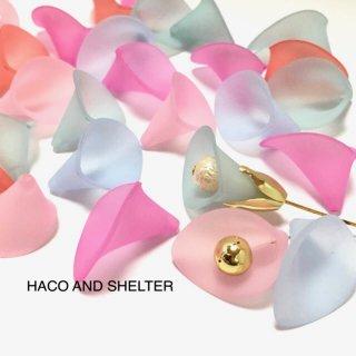 <50コ>Calla lily 5color☆Acrylic beads