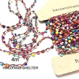 4m・seedbeads yarn☆colorful
