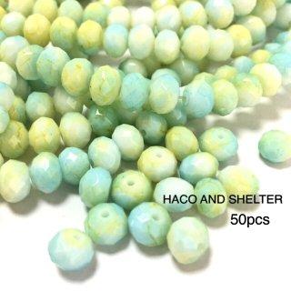 petit glass beads・50コ☆muscat