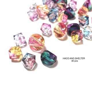 petit jewel mix★30pcs(acrylic beads)