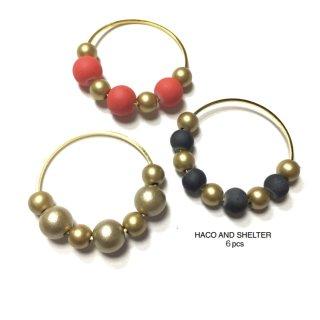 berry gold slimhoop☆★6pcs