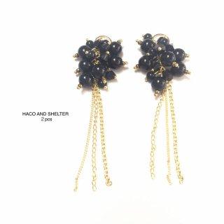 precious fruity・black★2pcs