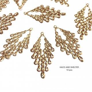 10pcs★retro precious gold