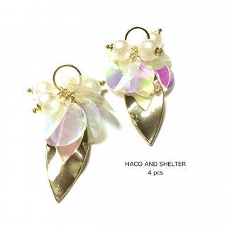 4pcs★angel pearl tassel