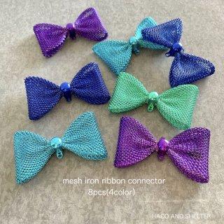 8pcs(4color)★mesh ribbon connector