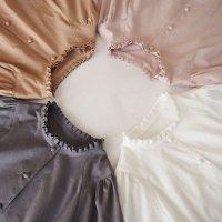 セミオーダー/タックフリルドレス[Cotton Silk]