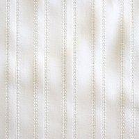 カラミ織りストライプ/ホワイト