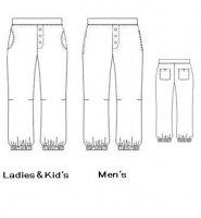 アンクルタイドパンツ  ladies/men's