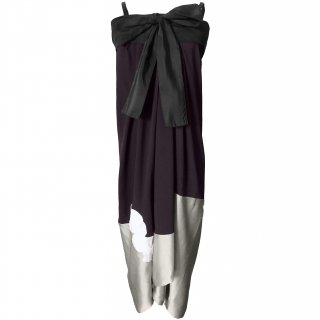 9号■レンタルドレス■Product code:17012 | LANVIN 2005 Silk flower applique KIMONO dress(ランバン 着物ドレス)