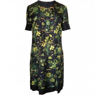 7号■レンタルドレス■Product code:02002 | GUCCI Flora Collection Silk Dress(グッチ フローラ ドレス)