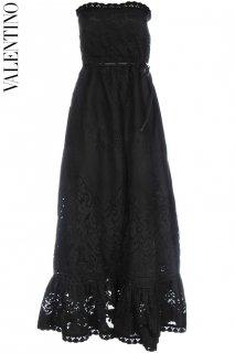 9号【レンタルドレス】Product code:00105 | VALENTINO 2012 Runway Lace Long Dress(ヴァレンティノ 織りレースのロングドレス)